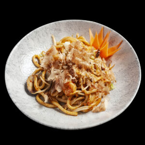 piatto di noodles gyokai udon