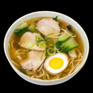 niku-ramen con carne e uovo