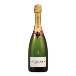 bottiglia di champagne bollinger special cuvee