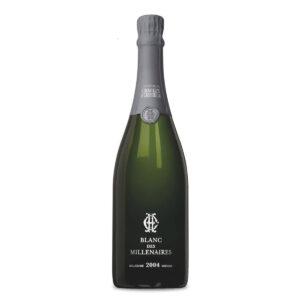 bottiglia di champagne charles heidsieck blanc des millenaires 2004