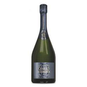 bottiglia di champagne charles heidsieck brut reserve