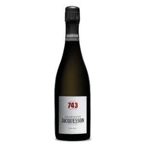 bottiglia di champagne jacquesson cuvee 743