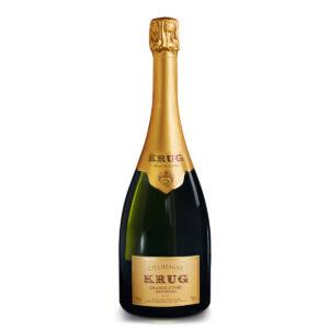 bottiglia di champagne Krug Grand Cuvée 168ème