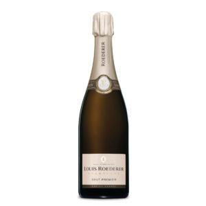 bottiglia di champagne louis roederer brut premier