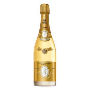 bottiglia di champagne louis roederer cristal 2012