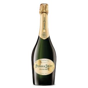 bottiglia di champagne perrier jouet grand brut
