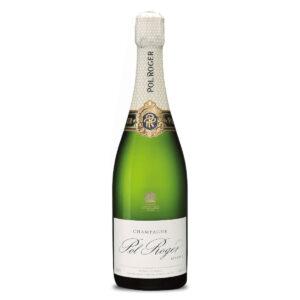 bottiglia di champagne pol roger reserve brut