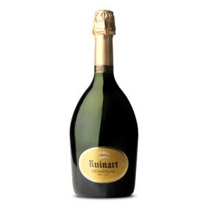 bottiglia di champagne r brut ruinart