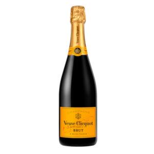 bottiglia di champagne Veuve Clicquot Carte Jaune Brut